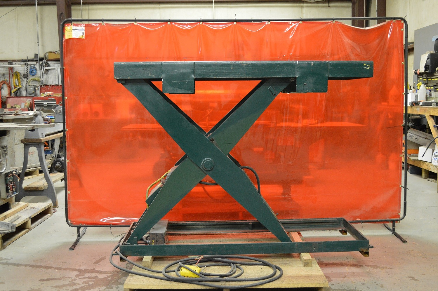 Used Southworth 2000# Lift Table - Model LS2-48 - Photo 1