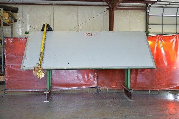 Used Caste Framing Table -  5'X12'