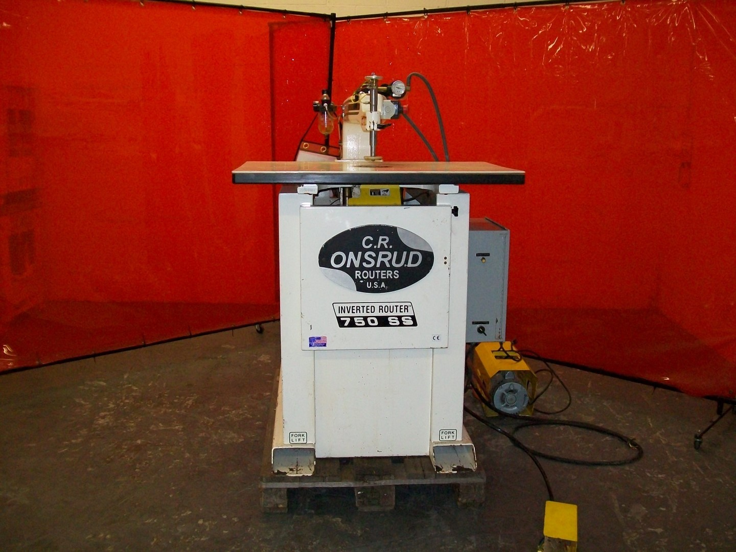 Used Onsrud Inverted Pin Router - Model: 750-SS