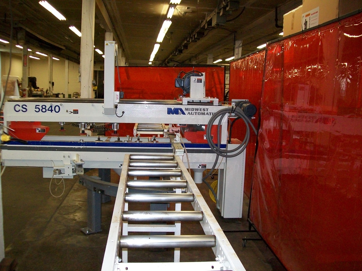 Used Midwest Automation Postforming Countertop Saw - Model - CS-5840