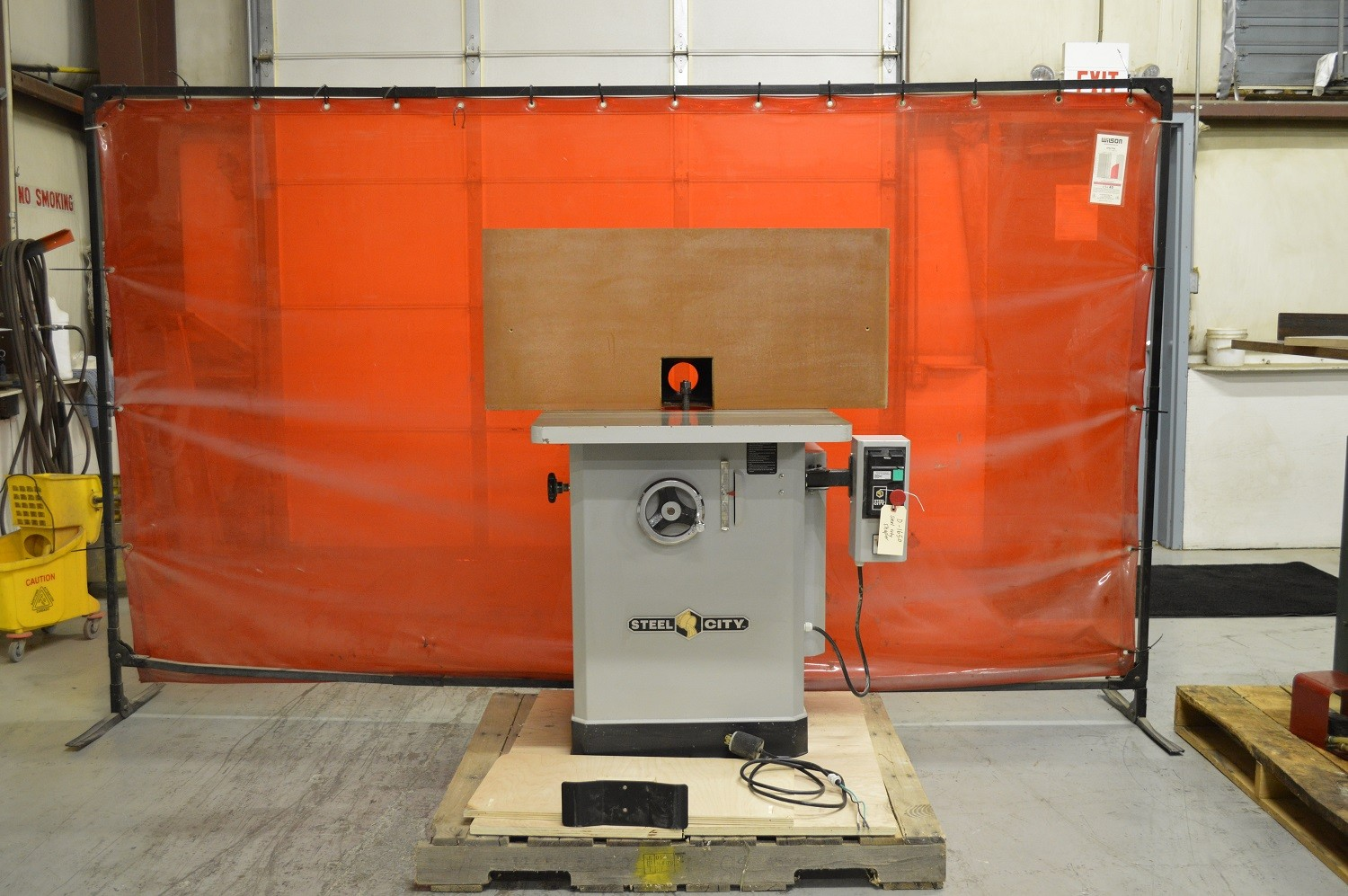 Used Steel CIty Spindle Shaper - Model: 48115 - Photo 1
