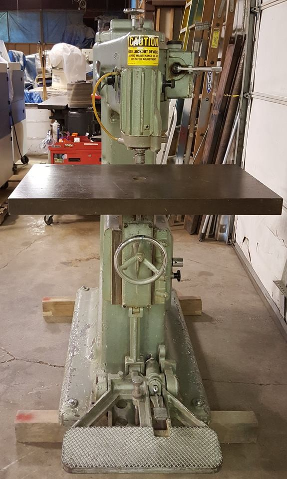 Used Onsrud Pin Router - Model RO-117