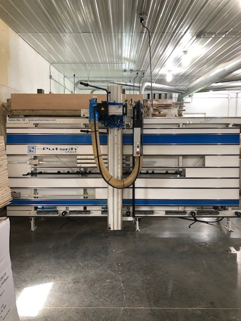 Used Putsch-Meniconi Heavy Duty - Space Saver - Vertical Panel Saw - Model SVP-133