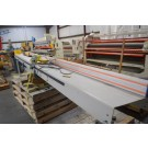 Used Tigerstop 12 Foot Push Stop Conveyor - Model TS12