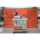 Used Casadei F114 Shaper with 3-roll Maggi Feeder