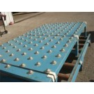 Used New London Roller Ball Conveyor